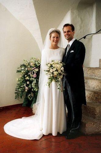 Philipp von Lattorff and Princess Tatjana of Liechtenstein