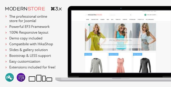 ThemeForest  Modern Store v1.08  responsive eCommerce Joomla theme Free Download http://ift.tt/2nmwZAa