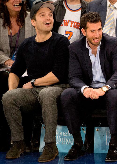 Sebastian at the Blazers/Knicks game on November 22th 2016
