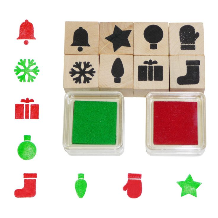 Karácsonyi nyomdakészlet