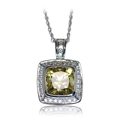 Here is one more magnificent color gemstone necklace - Parris Jewelers, Hattiesburg, MS