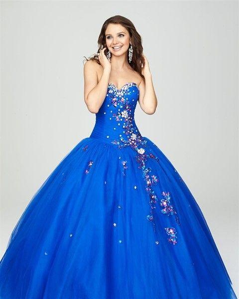 New Sexy 2015 Vestido De Nera azul marinho rosa Quinceanera vestidos De tule Beads doce 16 meninas De festa De Debutante 15 Anos bola vestidos