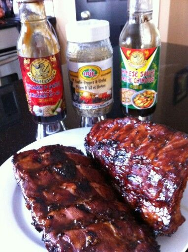 You have to try these  products with some ribs this summer