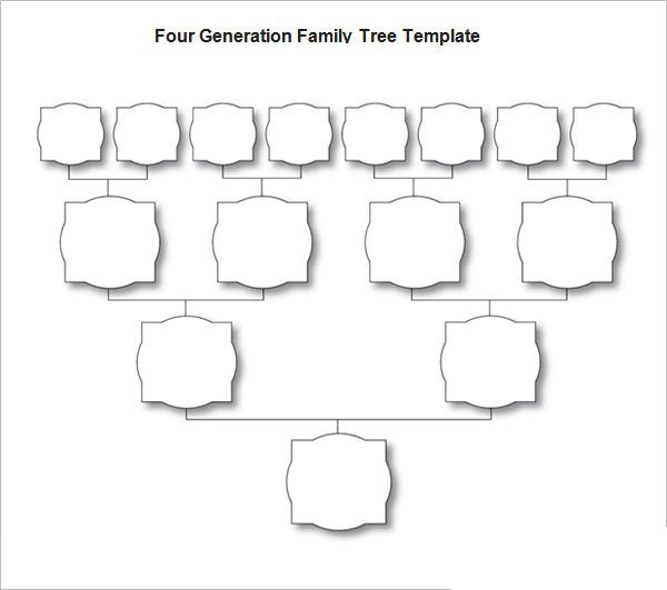The 25 best family tree template word ideas on pinterest for Blank family tree template for kids