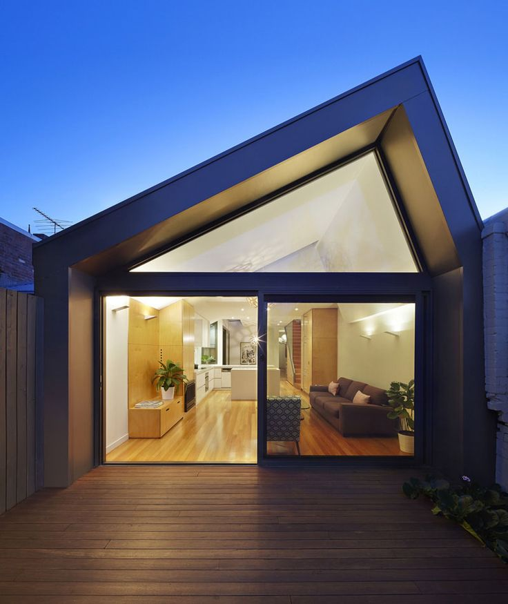 Nic Owen Architects has designed the renovation and extension to a heritage Victorian terrace in Melbourne, Australia.