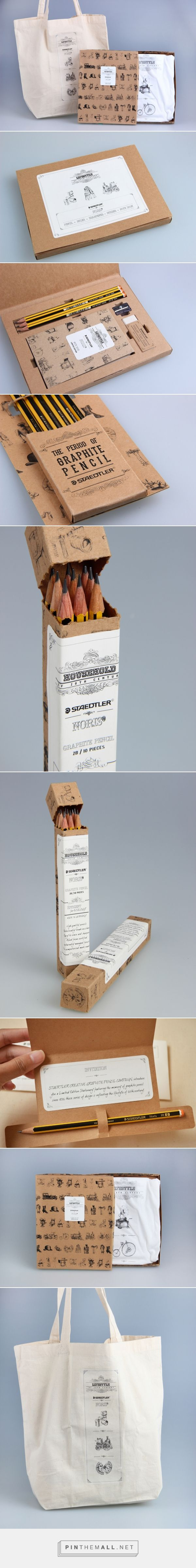 Staedtler Limited Edition packaging, Personalised stationary gift set, maybe?
