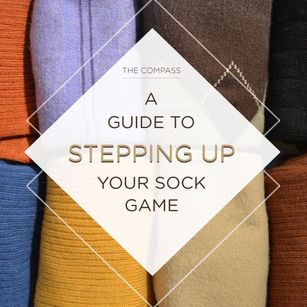 Step up your sock game: http://www.blacklapel.com/thecompass/mens-dress-socks-stylish-socks-for-men-best-dress-socks-brands/