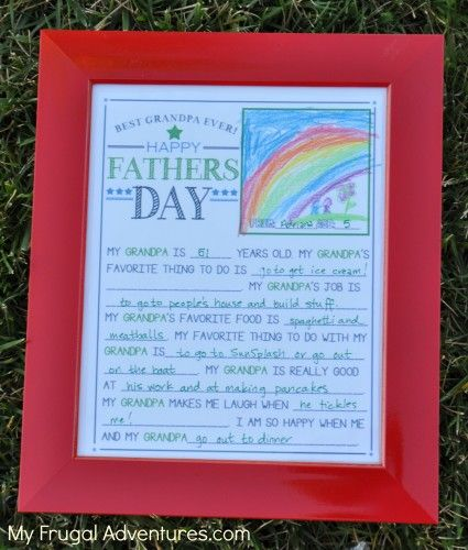 father's day printable decorations