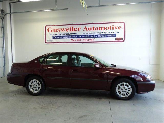 2003 Chevrolet Impala, 92,149 miles, $6,995.