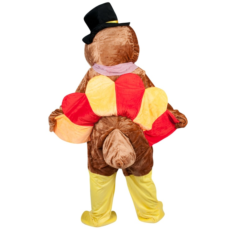 Thanksgiving Turkey Adult Mascot Costume - One-Size