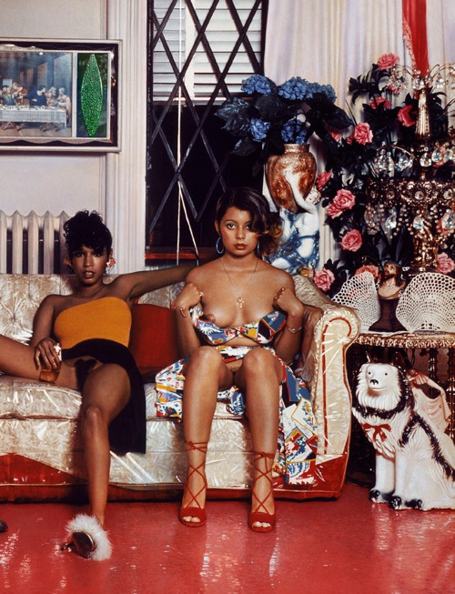 Hispaniques, Williamsburg, Brooklyn (1975) Jean Paul Goude