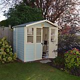 7X5 Lumley Shiplap Timber Summerhouse | Departments | DIY at B&Q