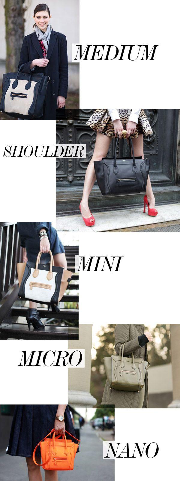 Celine-Luggage-Sizes