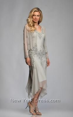 """This is it.  This is my ideal mother of the groom dress for an outdoor Fall wedding.  They have it in another color called """"lead gray"""" which I like better than this.  This is definitely my choice."""
