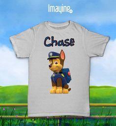 Camiseta La Patrulla Canina (Chase)