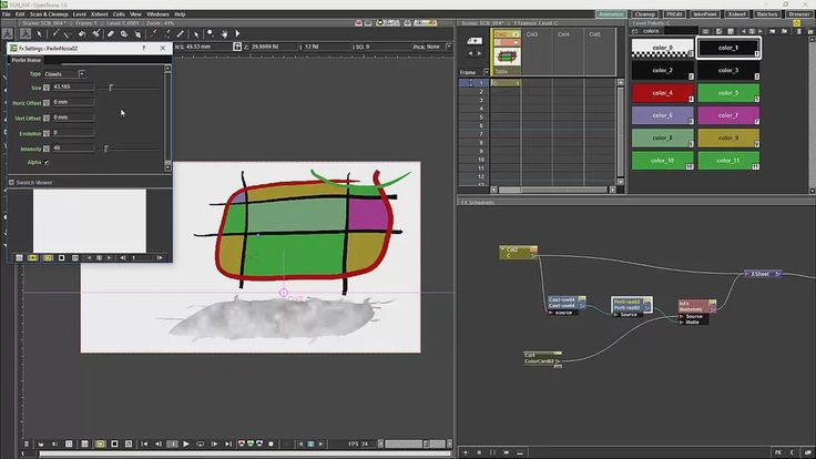 Opentoonz Tutorial 10 Shadows on Vimeo
