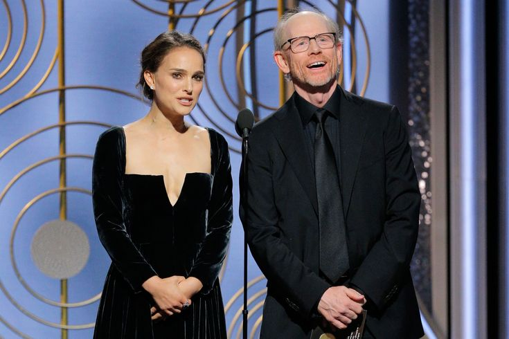 Natalie Portman calls out all-male director lineup on Golden Globes stage