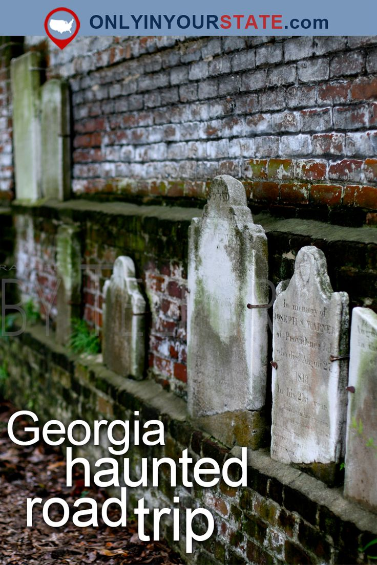 Travel | Georgia | Attractions | USA | Real Haunted US | Haunted Places | Haunted Hotel | Paranormal Activity | Ghost Stories | Haunted Road Trip | Things To Do | Georgia Road Trips | Scary | Real Haunted House | Haunted Prison | Ruins | Abandoned Hospital | Haunted Cemetery