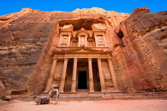 Чудо света. Петра в Иордании.