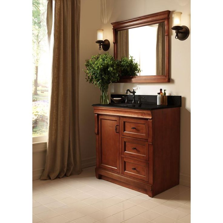 Foremost naples 24 in w x 18 in d x 34 in h vanity for Bathroom cabinets naples fl