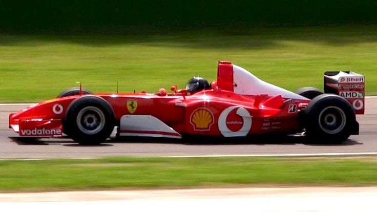 Ferrari F2002 F1 V10 Engine Pure Sound