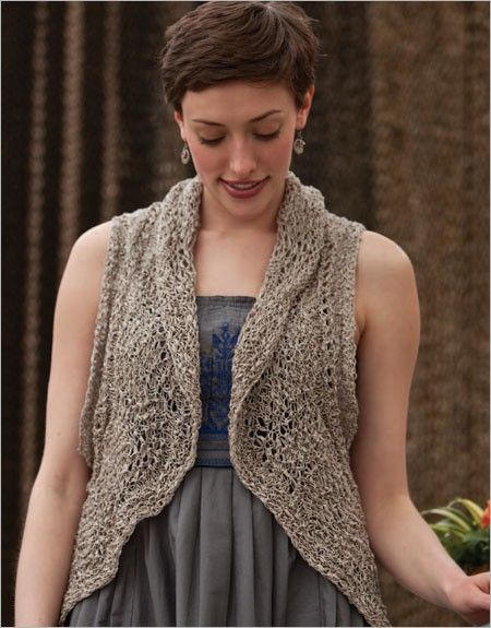 Nantucket Vest Knitting Pattern