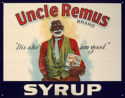 Uncle Remus Syrup Tin Sign 16 x 13in- Made In The USA