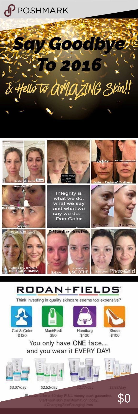 Rodan an Fields Looking to get the best skin you can have? Contact me to get you start with Rodan and Fields. Ask how you can save 10% on all products and get free shipping. Memrick.myrandf.com Makeup
