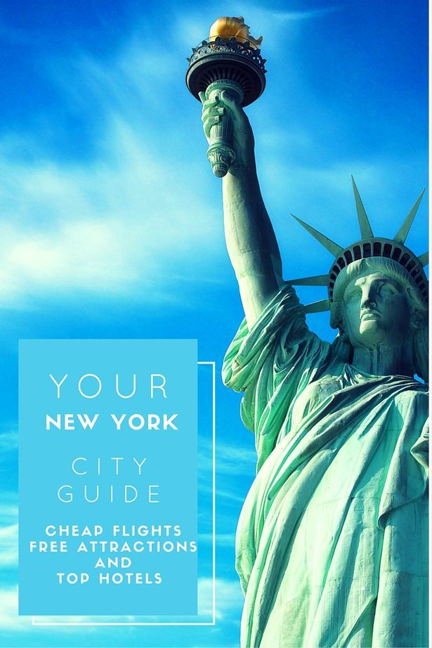 New York City Guide for those on a budget: cheap flights to the iconic American city, free attractions, and hotels that won't break the bank.