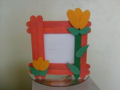 Lembrancinha para o Dia das Mães - Palito de Picolé Modelos de porta jóia de palito de picóle Você também tem essa sugestão abaixo para que...