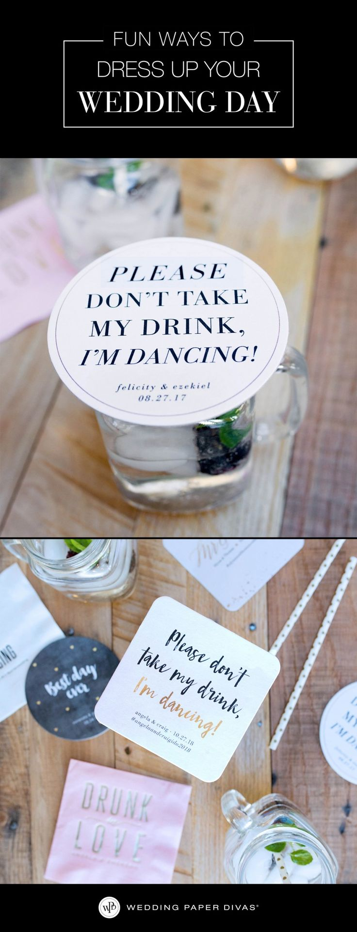 [ad] Fun and functional cocktail accessories to keep them dancing all night long. Small details bring your party to a whole new extraordinary level.