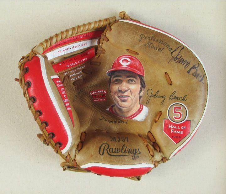 Baseball Glove Paint : Best my baseball glove art images on pinterest