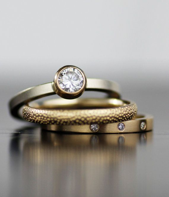 Contemporary Bands: Best 25+ Modern Engagement Rings Ideas On Pinterest