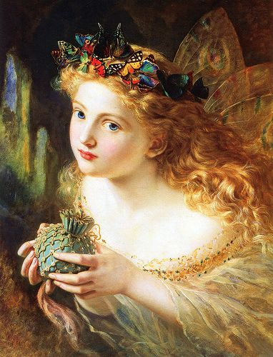 """Sophie Anderson (1823-1903), """"Take The Fair Face of Woman"""", 1869"""