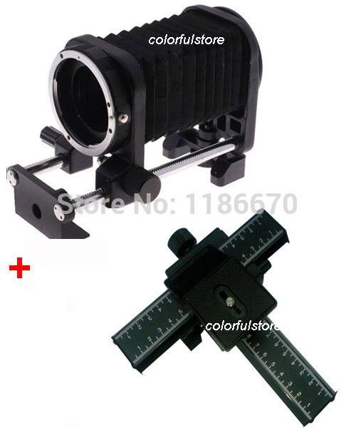(89.60$)  Know more  - FreeShip Macro Fold Bellows+4-way Focusing Rail For Canon 1100D 1000D 700D 650D 550D 450D 350D 60D 50D 7D 5D Mark II III 5D2 5D3