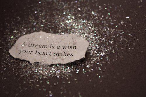 Dream on.