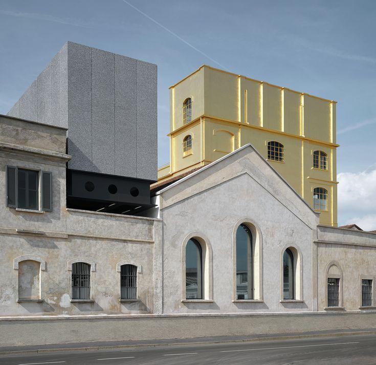AV Monographs Looks at 15 Years of Rem Koolhaas and OMA,Prada Foundation, 2008-2015, Milan (Italy) © Bas Princen/Courtesy Fondazione Prada. Image Courtesy of Arquitectura Viva