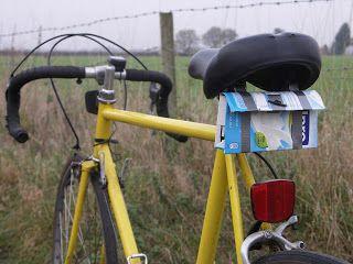 Bikes Etc: Recycled saddlebag