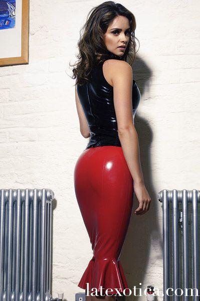 Adele Taylor -black-top-red-skirt028   Adele Taylor ...
