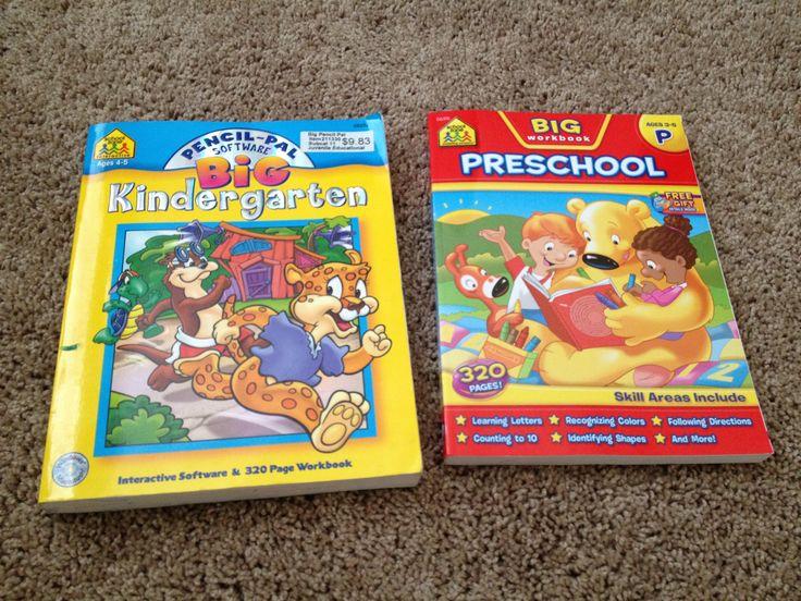 ALL: workbooks - not a huge fan of the Big Kindergarten book, but love the Pre-K one.