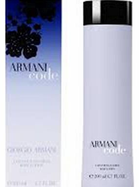 Armani Code pour Femme Body Lotion 200ml Armani Code pour Femme Body Lotion 200ml: Express Chemist offer fast delivery and friendly, reliable service. Buy Armani Code pour Femme Body Lotion 200ml online from Express Chemist today! (Barcode E http://www.comparestoreprices.co.uk/perfumes/armani-code-pour-femme-body-lotion-200ml.asp