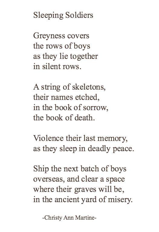 Short War Poems 7