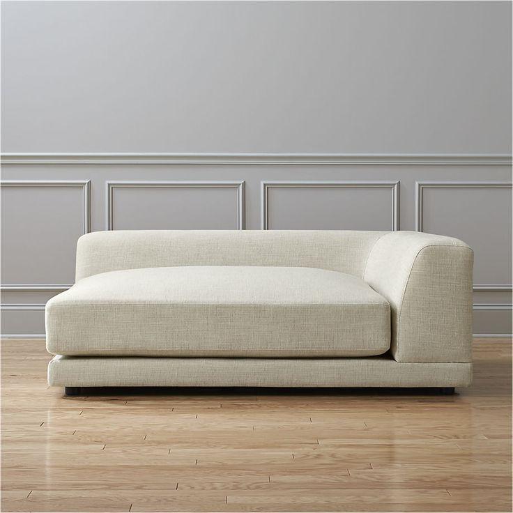 uno right arm sofa  | CB2