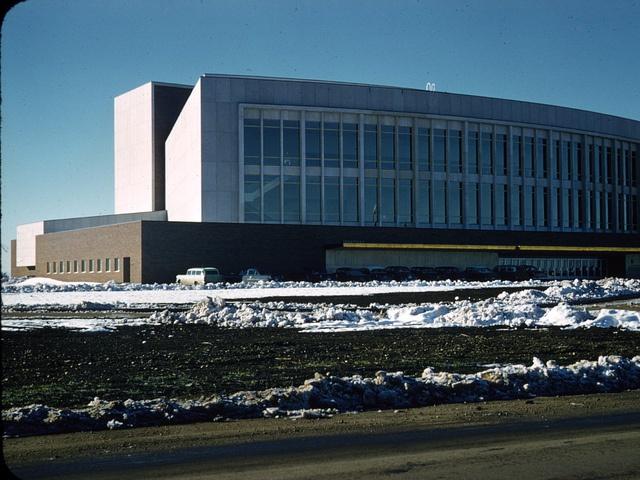 Jubilee Auditorium, Edmonton, Alberta circa 1957 by rgdsrider, via Flickr