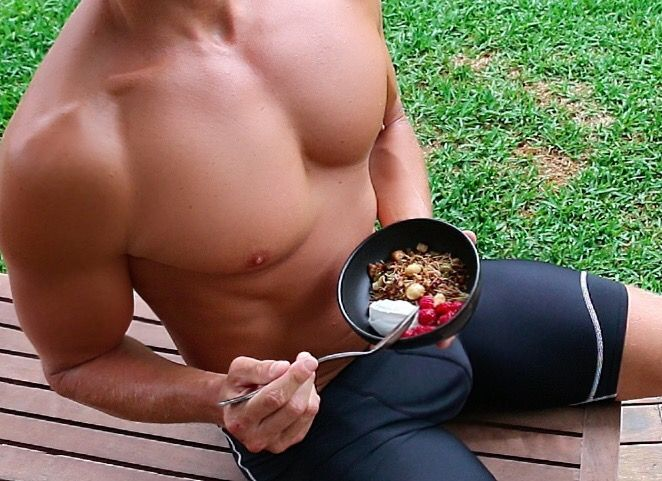 Fat Burning Coconut Granola Luke Hines