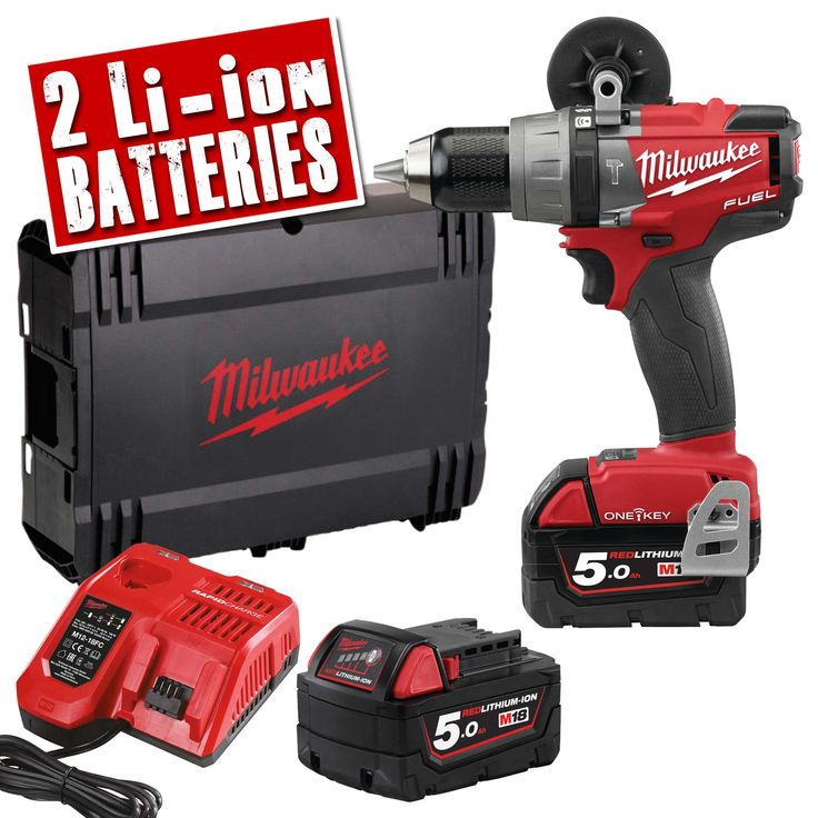 Milwaukee M18 ONE PD-502X | Milwaukee 18v Fuel ONE KEY Hammer Drill Driver