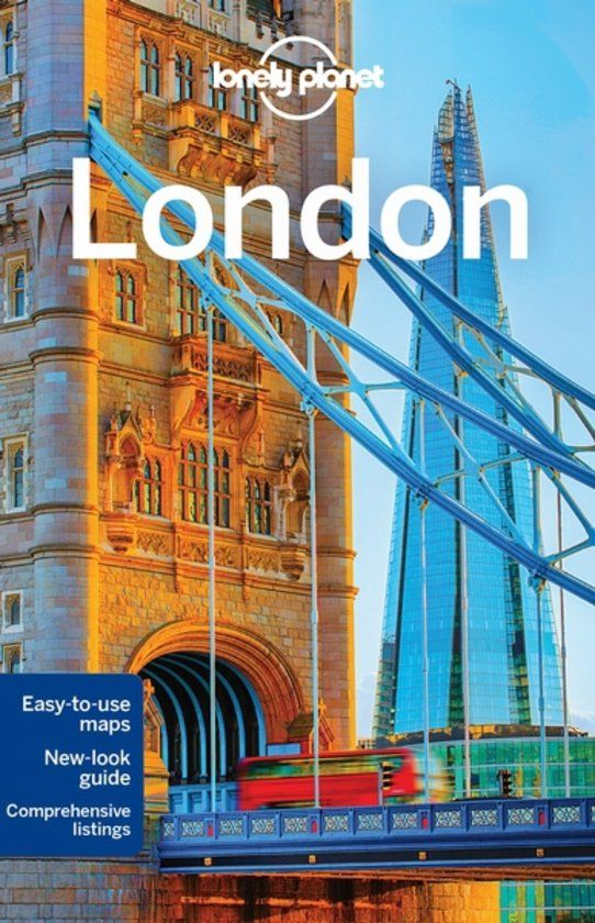 Reisgids Lonely Planet – London || The London Tester Shop