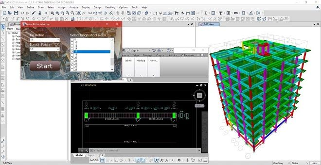 Csidetail Is A Powerful Structural Design Software And Structural Detailing Software Fo Structural Engineering Modern Architecture Building Software Design