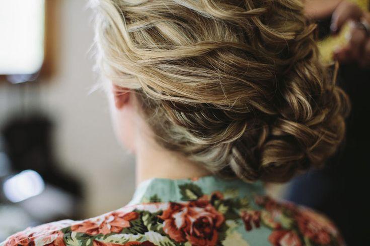 wedding hair style | low side bun | boho bride
