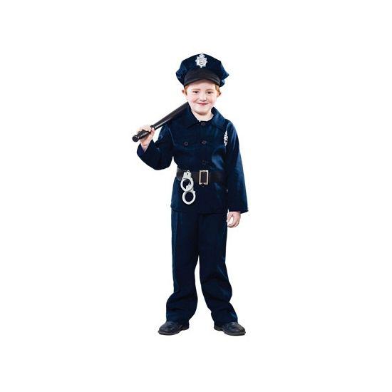Voordelig politie kostuum voor kinderen. Dit politie kostuum voor kinderen bestaat uit een broek, shirt, riem en hoed. Carnavalskleding 2015 #carnaval
